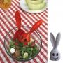 Zajíc - naběračka salátu